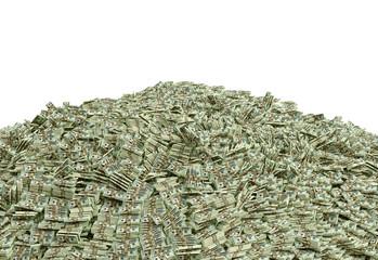 Dollar pile
