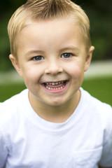 Cute, smiling Little Boy Portrait