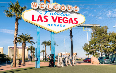 """ Welcome to Fabulous Las Vegas "" and breed Dogs"