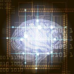 Cyber brain
