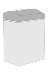 cartoon image of destructer machine