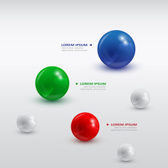 balls infographic