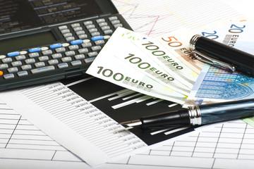 calculadora grafica y billetes
