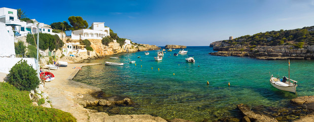 Holiday harbour, Spain
