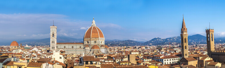 Wall Mural - Cathedral Santa Maria del Fiore in Florence, Italy