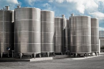 industrial silos