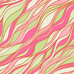 green and pink pattern