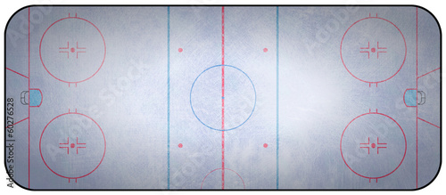 Fototapete Ice Hockey Rink