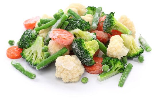 homemade frozen vegetables