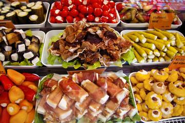 Wochenmarkt, frische Lebensmittel