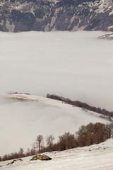 snow mountain landscape