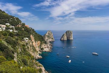Faraglioni rocks. Italy, Capri
