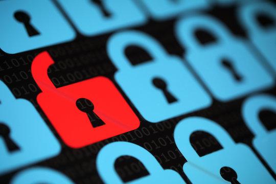 Internet network security alert