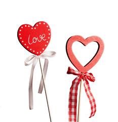 Valentins love heart shape