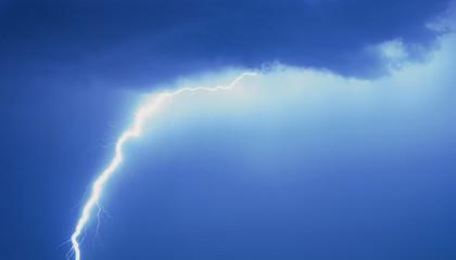 Fototapete - Lightning