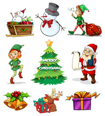 Different christmas templates
