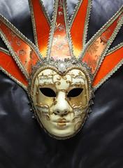 máscara arlequín teatro carnaval  2757-f14
