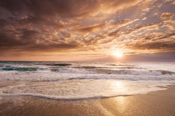 Florida Coastal Sunrise reflects its tropical beauty