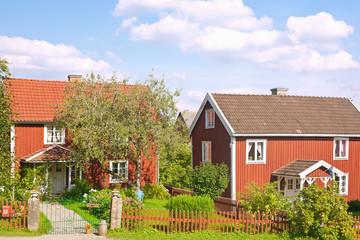 Fotomurales - Sevetstorp, Astrid Lindgrens Bullerbue, bei Vimmerby