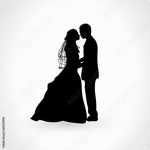 Quot Brautpaar Silhouette Quot Stockfotos Und Lizenzfreie Vektoren