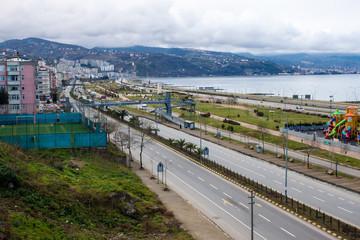 Coast in Trabzon, Turkey