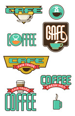 10 Coffee and Cafe Emblems