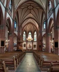 internal view of the Catholic Church