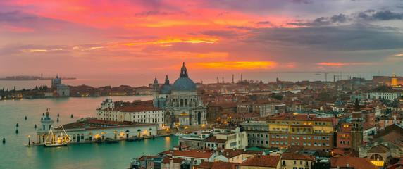 Foto op Plexiglas Venetie View of Basilica di Santa Maria della Salute,Venice, Italy