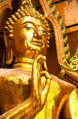 Golden Buddha Statue Kanchanaburi Thailand