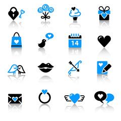 St. Valentine's Day icons