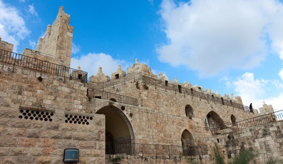 Part of wall of Jerusalem near Shkhem gate
