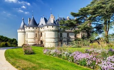 Fotobehang Kasteel Chateau de Chaumont-sur-Loire, France