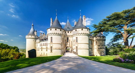 Printed kitchen splashbacks Castle Chateau de Chaumont-sur-Loire, France