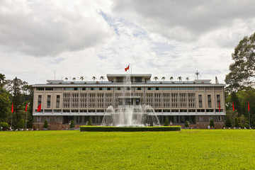 Reunification Palace. Ho Chi Minh city, Vietnam