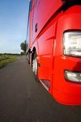 LKW- Verkehr, Nahaufnahme-Ausschnitt