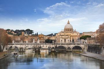Poster de jardin Rome Vatican - Basilique Saint-pierre de Rome