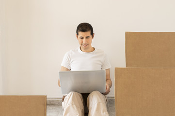 looking for a moving company online
