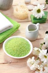 spa green sea salt