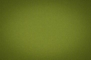 green nylon fabric  texture background.