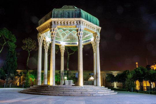 Tomb of poet Hafez in Shiraz, Iran.