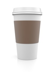 Coffee in thermo cap