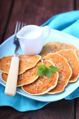 pancake whith pripek