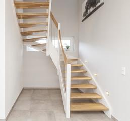 Treppenstufen Holztreppe Treppenhaus