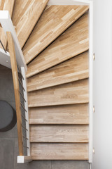 Treppenstufen Holztreppe © Matthias Buehner