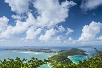 Poster Caraïben Virgin Gorda, British Virgin Islands