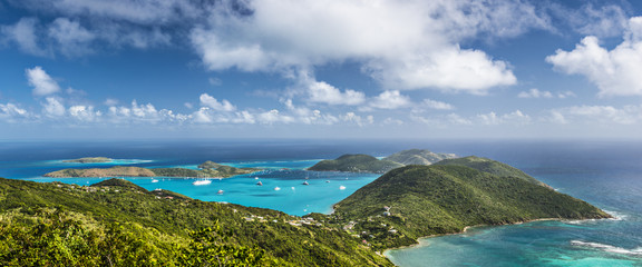 Canvas Prints Caribbean Virgin Gorda, British Virgin Islands