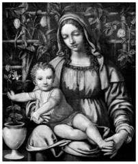 Virgin & Child Jesus - 16th century
