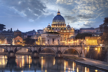 Fototapete - Basilique Saint-pierre de Rome
