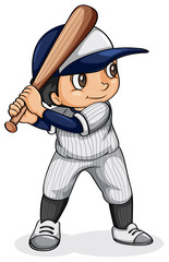 An Asian baseball player