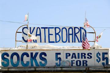 Skateboards and Socks